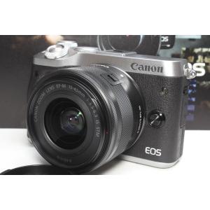 ミラーレス一眼 Canon キヤノン EOS M6 EF-M15-45 IS STMレンズキット シ...