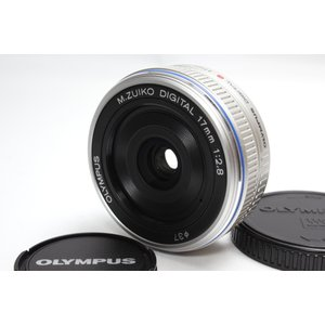 単焦点レンズ OLYMPUS オリンパス M.ZUIKO DIGITAL 17mm F2.8 レンズ...