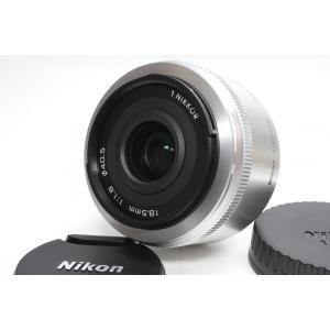 単焦点レンズ Nikon ニコン 1 NIKKOR 18.5mm f/1.8 レンズ シルバー