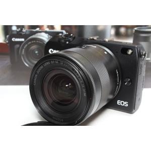 ミラーレス一眼 Canon キヤノン EOS M2 レンズキット ブラック 新品SDカード付き