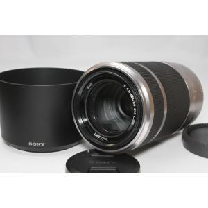 望遠レンズ SONY ソニー E 55-210mm OSS レンズ シルバー 手ブレ補正