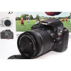 一眼レフ Canon キヤノン EOS Kiss X7 EF-S18-55mm IS STM レンズ...