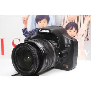 一眼レフ Canon キヤノン EOS Kiss X3 レンズキット 手ブレ補正 フルHDムービー