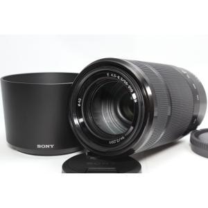 望遠レンズ SONY ソニー E 55-210mm OSS レンズ ブラック 交換レンズ ミラーレス...