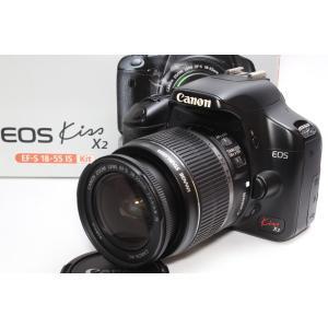 一眼レフ Canon キヤノン EOS Kiss X2 レンズキット 手ブレ補正