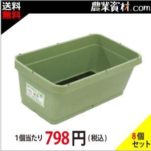 AZベジプランター700 NEO (グリーン) (10個セット・送料込) 705(横)×395(縦)×258(高さ) 花 野菜ガーデニング 家庭菜園 菜園プランター|nogyo-shizai