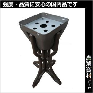 F型吸殻入れ・ガルバ付 nogyo-shizai