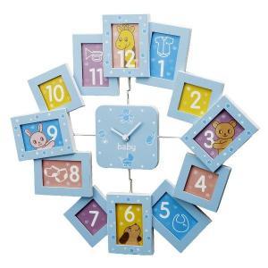 品番:253-330 品名:茶谷産業  Bambini Baby&Kids クロックフレーム...