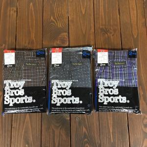 トランクス Troy Bros Sports Mサイズ 2枚組×3パック|nohohonlibre