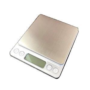 デジタルスケール キッチンスケール 電子天秤 はかり インセクトスケール 3000gまで0.1g単位...