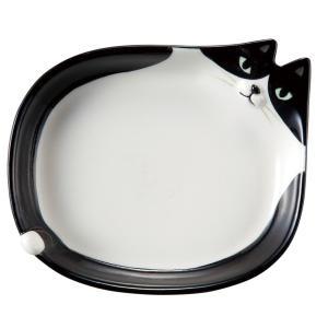 DECOLE デコレ 豆皿 お皿 ハチワレ猫 ねこ ネコ 猫 食器