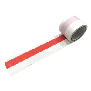 紅白テープ/紅白ビニールテープ 約50m巻|nohohonlibre