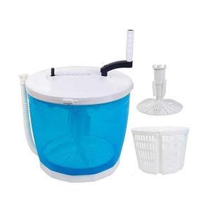 手回し洗濯機 簡易脱水機 災害時に 一人暮らし 手動 ポータブル 小型洗濯機 分別洗い 停電対策 停電グッズ 防災グッズ LB-109|nohohonlibre