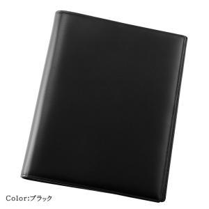 カバー 革  手帳 バイブル 21mm リング キプリス ボックスカーフ|noijapan