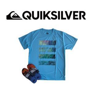 QUIKSILVER(クイックシルバー)ラッシュTシャツ  UPF30%+    UltraViol...
