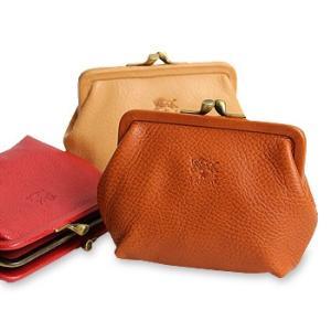 イルビゾンテ 財布 がま口コインケース(大) 商品番号411183 送料無料 財布 がま口財布 コインケース IL BISONTE noix