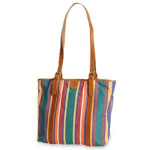 イルビゾンテ バッグ キャンバストートバッグ(ストライプ) 商品番号412171 送料無料 バッグ トートバッグ IL BISONTE|noix