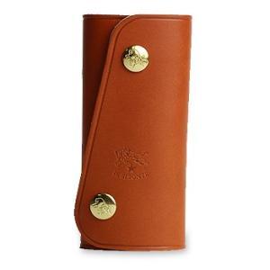 イルビゾンテ キーケース スナップボタンキーケース(L) 商品番号5412305250 送料無料 IL BISONTE ギフトラッピング無料|noix