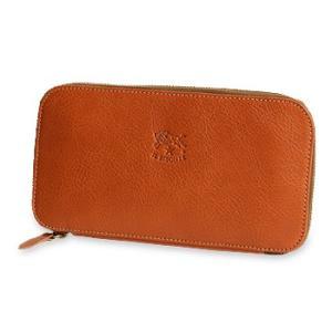 イルビゾンテ 財布 ラウンドジップ長財布(横型) 商品番号54162304140 送料無料 財布 ファスナー財布 長財布 IL BISONTE|noix