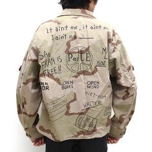 "【s30】【CAL O LINE/キャルオーライン】""PEACE"" FATIGUE SHORT JACKET[CL181-008PT]【送料無料】【キャンセル返品交換不可】【let】|noix"