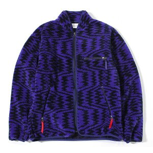 """【s20】【CAL O LINE/キャルオーライン】RECYCLE PILE CARDIGAN""""ROLLINGTHUNDER"""" [CL182-068]【送料無料】【キャンセル返品交換不可】【let】