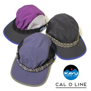 【CAL O LINE/キャルオーライン】KAVU / STRAP MESH CAP(カブー / ストラップメッシュキャップ)[CKW-001]【送料無料】|noix