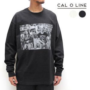 【CAL O LINE/キャルオーライン】AIR GUITAR L/S TEE(エアーギターロングスリーブティー)[CJW-922]【送料無料】|noix