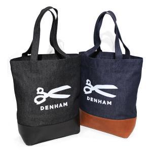 【デンハム/DENHAM】DENIM&LEATHER BAG(デニムアンドレザーバッグ) [No_01-18-10-84-010]【送料無料】|noix