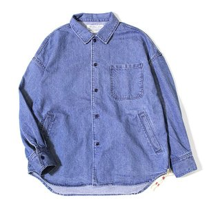 【レミレリーフ/REMI RELIEF】デニムワイドシャツ[RN18249024]【送料無料】 noix