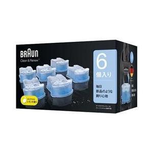 BRAUN クリーン&リニューシステム専用洗浄液カートリッジ(6個入り) CCR6