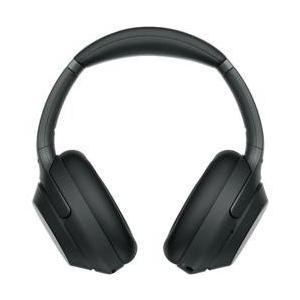 SONY ハイレゾ対応 ワイヤレスノイズキャンセリングステレオヘッドセット ブラック WH-1000...