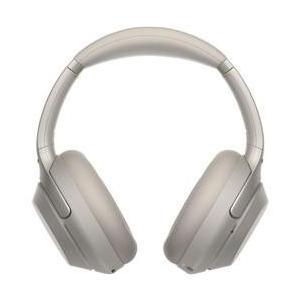 SONY ハイレゾ対応 ワイヤレスノイズキャンセリングステレオヘッドセット プラチナシルバー WH-...