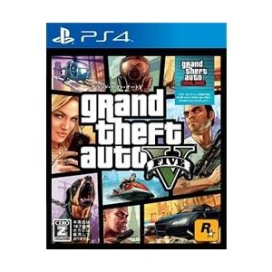 テイクツー 【PS4】 Grand Theft Auto V(グランド・セフト・オートV)(新価格版)(マネーカード同梱))  PLJM-84031