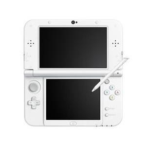 任天堂 【3DS】 Newニンテンドー3DS LL本体(パールホワイト)※ACアダプタ別売 RED-S-WAAA