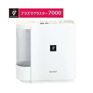 SHARP 加湿器 [気化式・パーソナルタイプ] アイボリーホワイト【木造5畳/鉄筋8畳/加湿量29...
