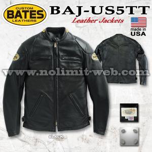 ベイツ レザージャケット BAJ-US5TT XLサイズ メンズ 本革  ライダース USA アメリカ製 革ジャン BATES|nolimit-bates