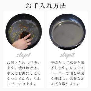 ラバーゼ 有元葉子の鉄 フライパン 20cm IH オーブン対応 LB-093