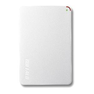 BUFFALO 2.5インチ(ポータブル) 外付けHDD 1TB ホワイト HD-PCF1.0U3-BWE|nomad