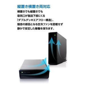 Logitec SeeQVault対応 外付けHDD ハードディスク 3.5インチ 4TB LHD-EN40U3QW|nomad