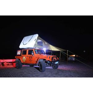 『CampGear正規品』最大4人まで泊まれるファミリールーフトップテント ハシゴを引くだけの簡単設営|nomad