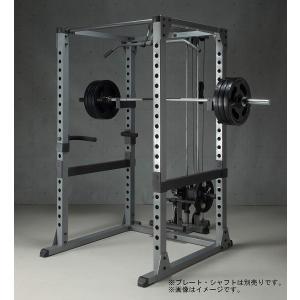 IROTEC(アイロテック)パワーラックHPMラットオプションセット/ベンチプレス・懸垂・スクワット...