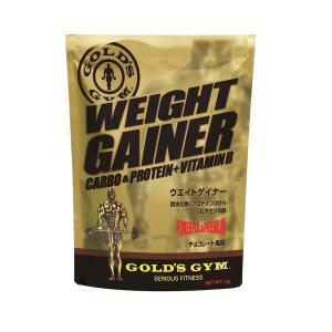 ゴールドジム(GOLD'S GYM) ウエイトゲイナー チョコレート風味