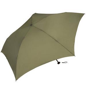 ワールドパーティー(Wpc.) 雨傘 折りたたみ傘 カーキ 50cm レディース メンズ ユニセック...