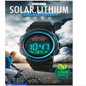 メンズ セイコー ソーラー せいこううでどけい レディース ストップウォッチ付き個性的な腕時計 アラーム ダブルタイム カウント ダウン 日 nomad