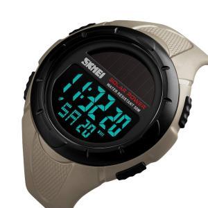 メンズ セイコー ソーラー 腕時計 レディース ストップウォッチ付きデジタル多機能 防水 うで時計 ブラック ledディスプレイ 目覚まし時 nomad