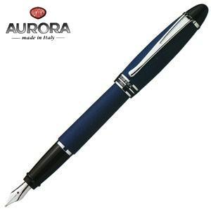 万年筆 名入れ アウロラ イプシロン・サテン 万年筆 サテンブルー B10-B|nomado1230
