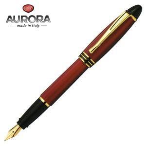 万年筆 名入れ アウロラ イプシロン ゴールドクリップ 万年筆 ボルドー B11-X|nomado1230