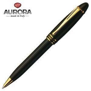 高級 ボールペン 名入れ アウロラ イプシロン ゴールドクリップ ボールペン ブラック B31-N|nomado1230
