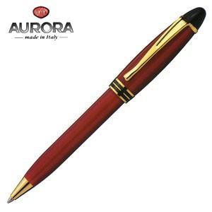 高級 ボールペン 名入れ アウロラ イプシロン ゴールドクリップ ボールペン ボルドー B31-X|nomado1230