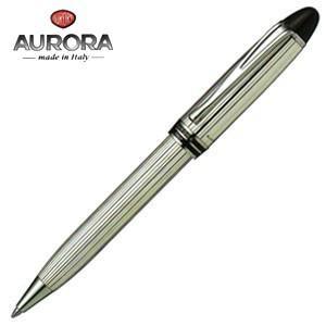 高級 ボールペン 名入れ アウロラ イプシロン・シルバー ボールペン B34|nomado1230